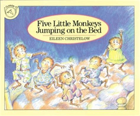 monkeys jumping in the bed book review quot five little monkeys jumping on the bed quot