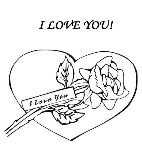I Love You Coloring Part 11 Coloring Pages I You