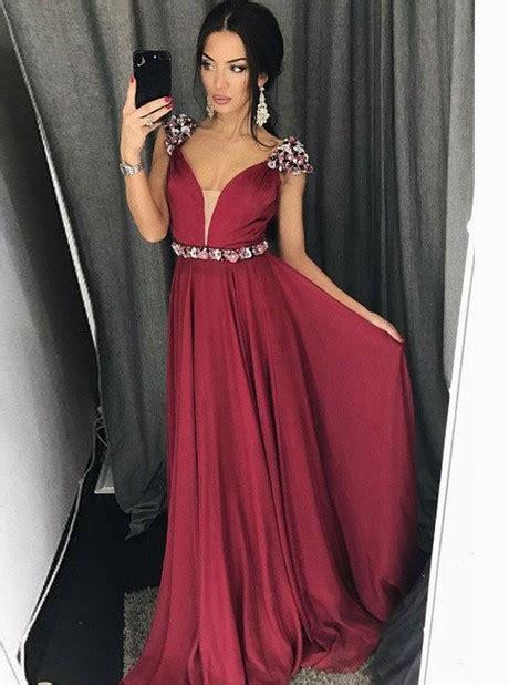 red  black prom dresses