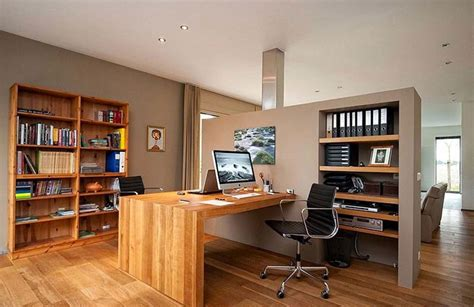 small home office interior design corner