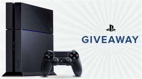 Ps4 Sweepstakes - want to win a ps4 enter today