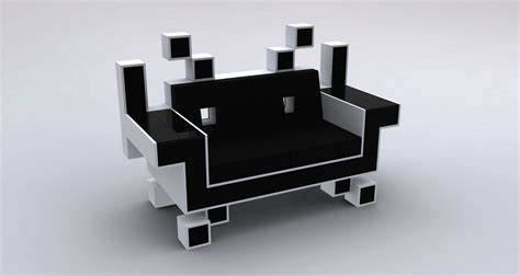 space invader couch space invader couch by igor chak