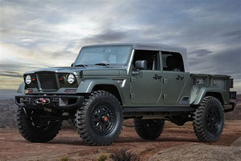 Jeep Truck Concept Jeep Crew Chief Concept Unveiled Will Lead The Way