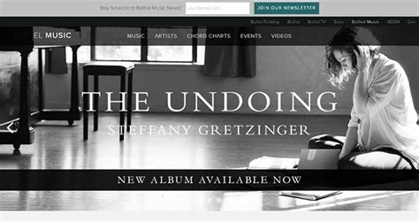 elegant themes website exles 30 exles of christian bands and music artists websites