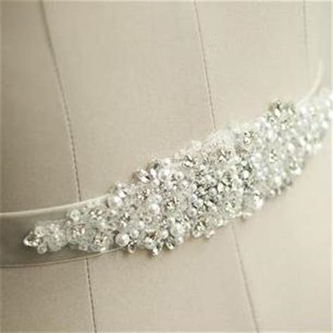 beaded sash handmade wedding sash belt bridal sash rhinestone sash