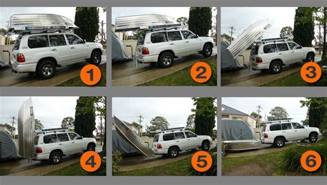 car boat loader for sale selecting a roof top tinnie for our australian road trip