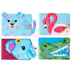 Smiggle Scented Fluffy Reversible Purse keyring smiggle uk key rings from