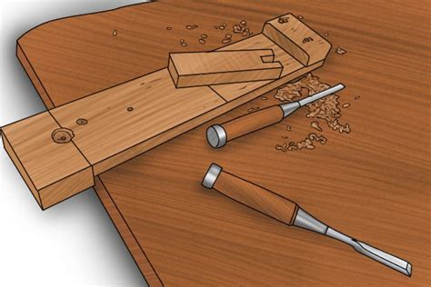bench hook uses how to chisel wood using a bench hook