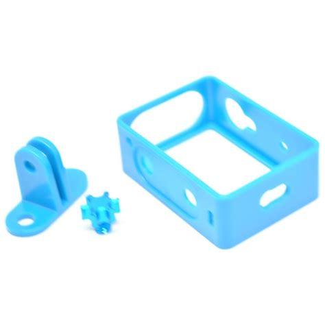 Plastic Side Frame Untuk Xiaomy Yi tmc plastic side frame for xiaomi yi hr319 blue jakartanotebook