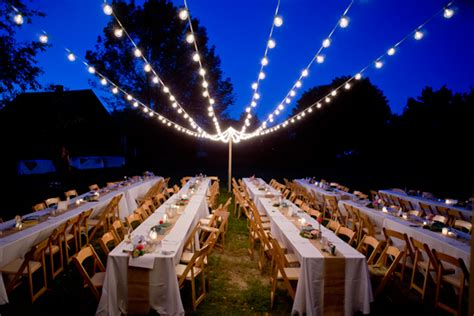 Outdoor Bistro Lights Lighting Rentals San Luis Obispo All About Events