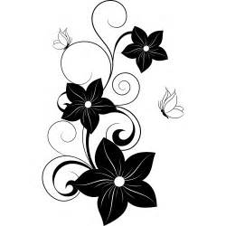 Lime Green And Black Kitchen Accessories - wallstickers folies flower butterflies wall stickers