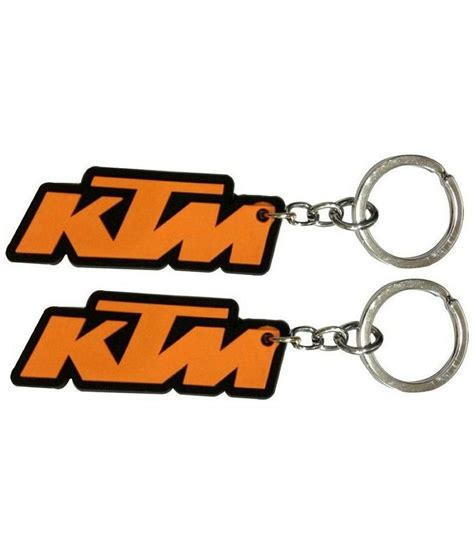 Ktm Keyring Fcs Lucky Ktm Rubber Key Chain Pack Of 2 Buy Fcs Lucky