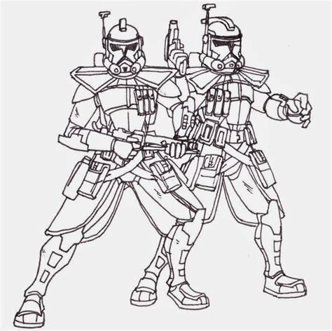 coloring pages of star wars the clone wars star wars clones coloring pages images