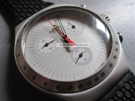swatch irony aluminium chrono time cut ycs jewels