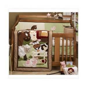 Farm Crib Bedding Set Nojo Farm Babies Five Crib Bedding Set Walmart
