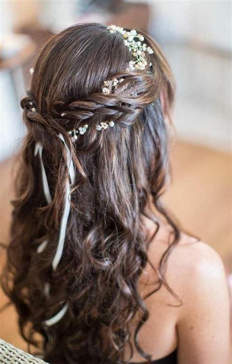 Hochzeitsfrisur Langhaar by Frisuren Hochzeit Lange Haare Trends Ideen 2018