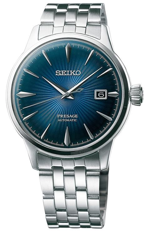 watches88. SEIKO PRESAGE Cocktail Time   Blue Moon SRPB41J1