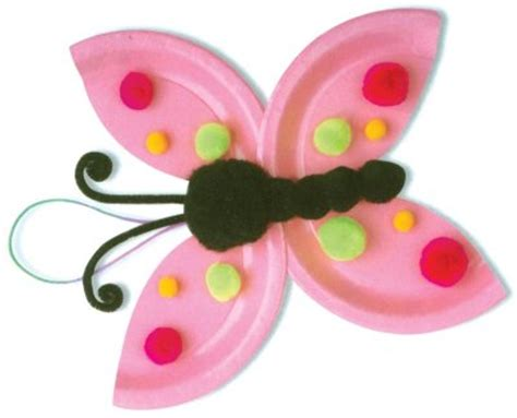 Papercraft Butterfly - 40 and fantastic paper plate crafts