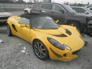 Damaged Lotus For Sale Salvage 2005 Lotus Elise For Sale