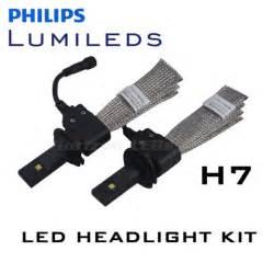 h7 len test led headlight bulbs