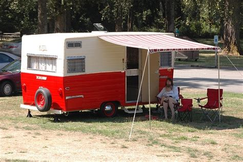 vintage travel trailer awnings pin by kimberly ann on vintage mobile shops pinterest
