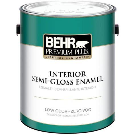 best interior semi gloss paint 1 gal ultra white semi gloss zero voc interior paint
