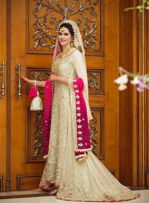 trending pakistani nikah dresses   bridal