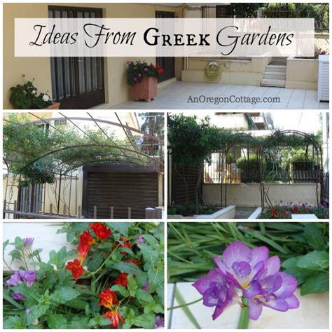 greek backyard designs ideas from greek gardens