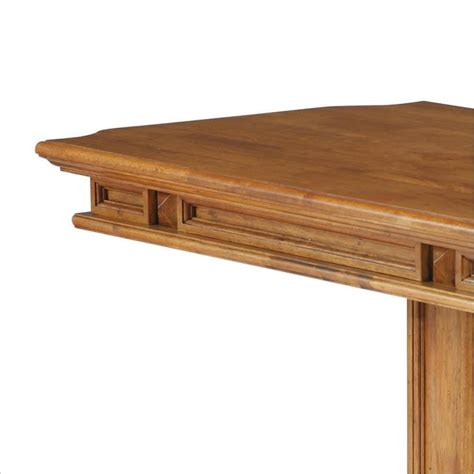 distressed oak dining table home styles rectangular nook distressed oak finish dining