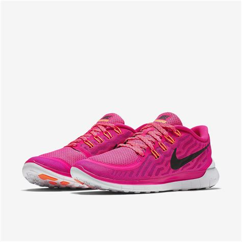 Nike Free Running 5 0 Pink nike womens free 5 0 running shoes pink tennisnuts