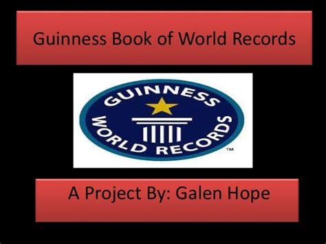 pictures of guinness book of world records guinness book of world records