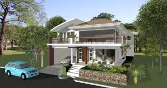Architecture elevated house designs willow park homes house