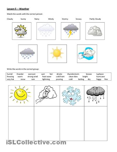 weather patterns worksheet pdf weather worksheet free esl printable worksheets made by