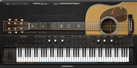 best acoustic guitar vst le guitar m lite free acoustic guitar vsti au plugin