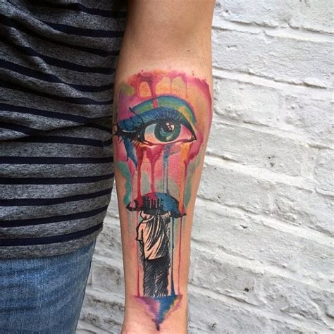 tattoo umbrella eye eye tattoos for men ideas and inspiration for guys