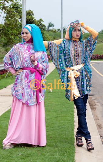 Atasan Salem baju model kelelawar busana muslim baju muslim pusat