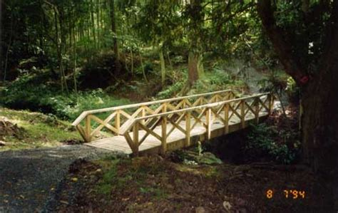 small wooden bridge download small wooden bridge construction plans free