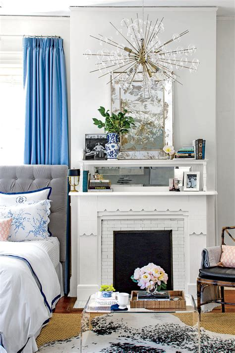 white blue bedroom beautiful blue bedrooms southern living