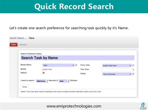 Records Searches Record Search In Odoo