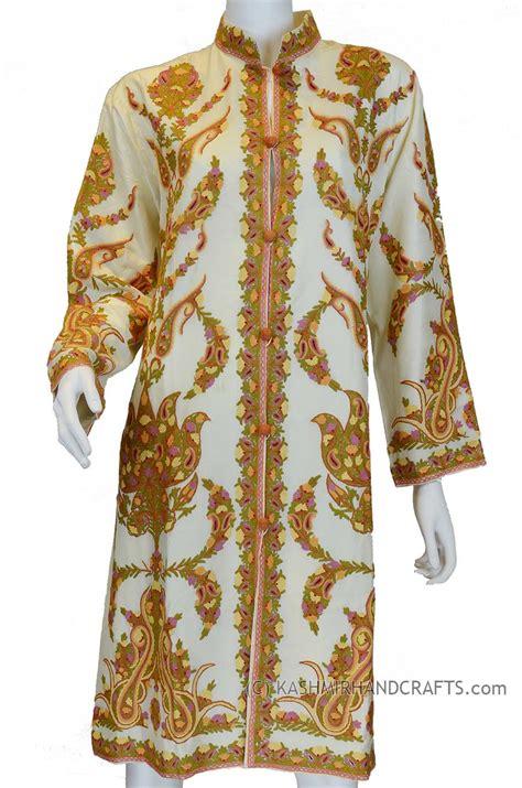 Jacket Silk Floral Bordir embroidered jackets archives kashmir arts craftskashmir arts crafts