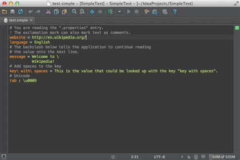 Modification Syntax by Syntax Highlighter And Color Settings Page Intellij Idea