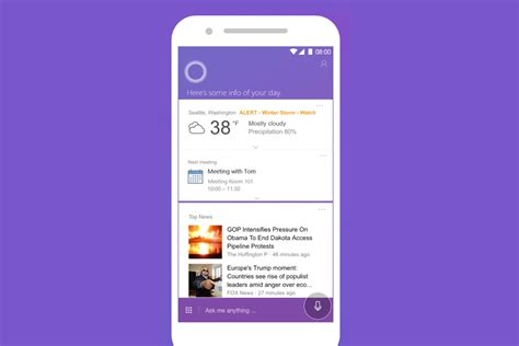 cortana app for android cortana app for android and ios is getting a pretty major refresh
