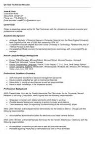 testing sle resumes for manual testing sle resume manual software tester