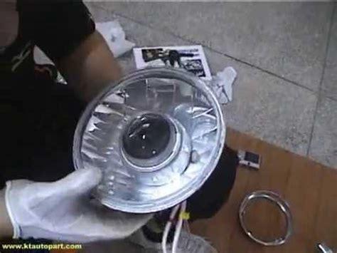 yamahaybr headlight retrofit  motorcycle hid bi