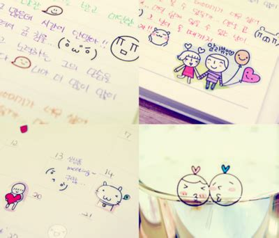 tumblr themes cute korean adorable cartoons cute korean letters image 49649
