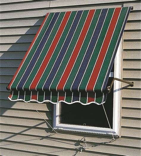 Cloth Window Awnings Sunbrella Fabric Roll Up Window Awnings
