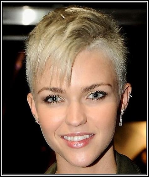 hair style for women with one side of head shaved womens short shaved sides hairstyles hair and nails