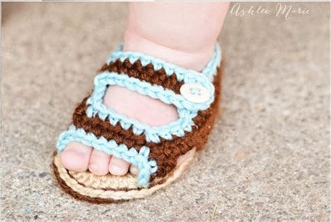 baby sandals crochet pattern the 23 most adorable baby booties and sandals you can make