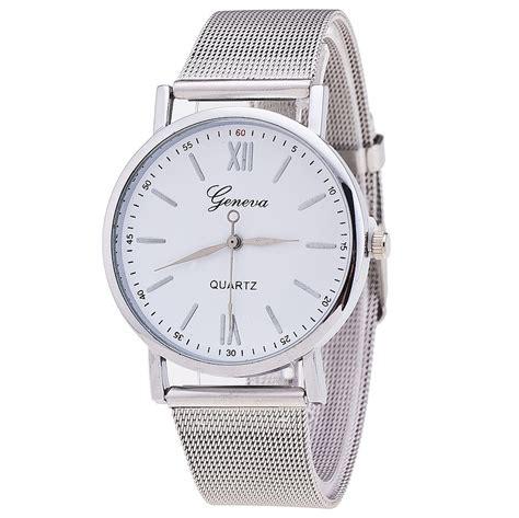 Geneva Watches Intl aliexpress buy new style geneva silver band