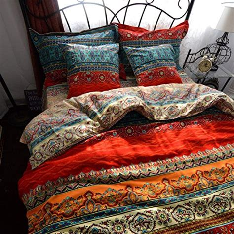 bohemian chic bedding thefit paisley textile bedding for adult boho style duvet